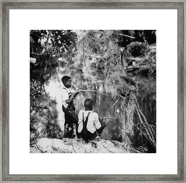 Albert Thornton Family Framed Print