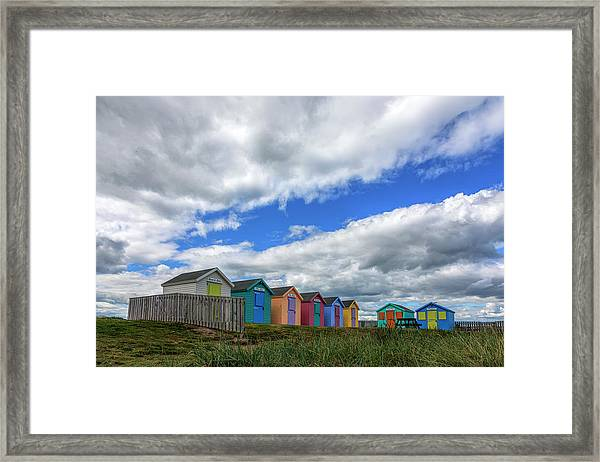 Amble - England Framed Print