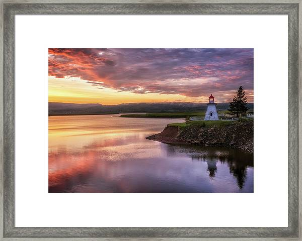 Anderson Hollow Lighthouse Framed Print by Tracy Munson