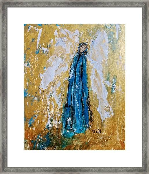 Angel Of Sympathy Framed Print