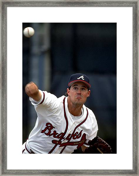 Atlanta Braves Framed Print