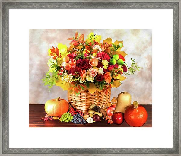 Autum Harvest Framed Print