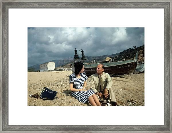 Barcelona,spain Framed Print by Michael Ochs Archives