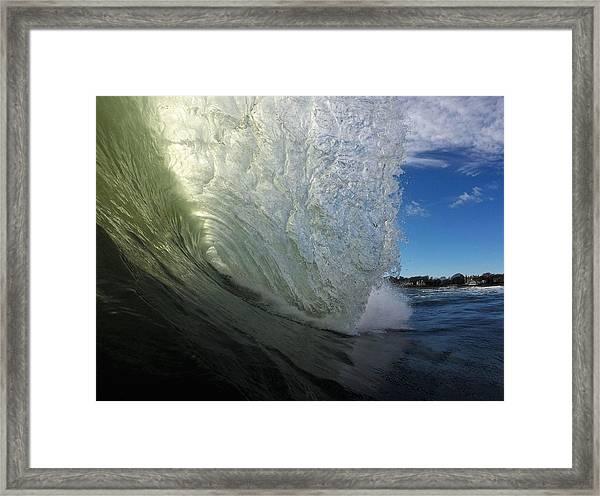 Barrel Framed Print