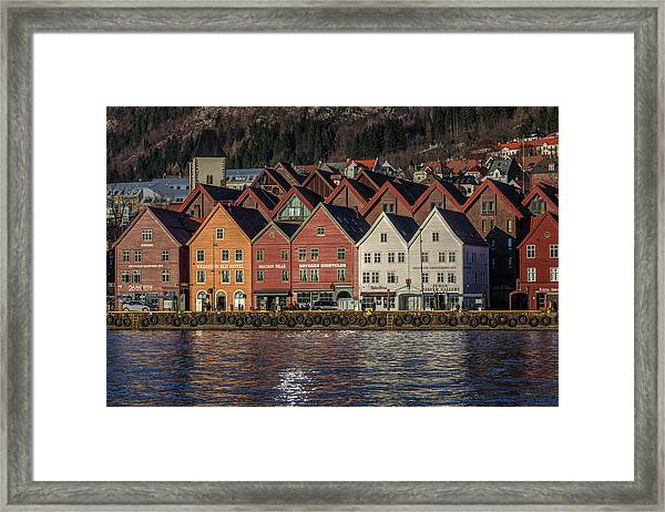 Bergen - Norway Framed Print