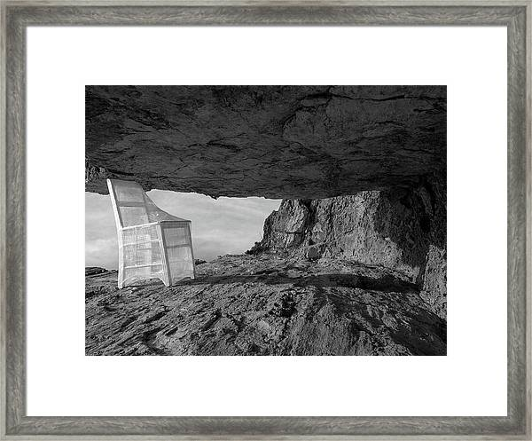 Between / The Chair Project Framed Print