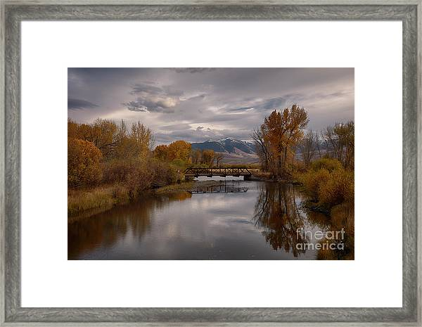 Big Lost River Framed Print