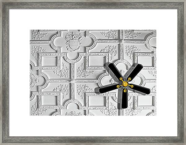 Black And White In Color Framed Print
