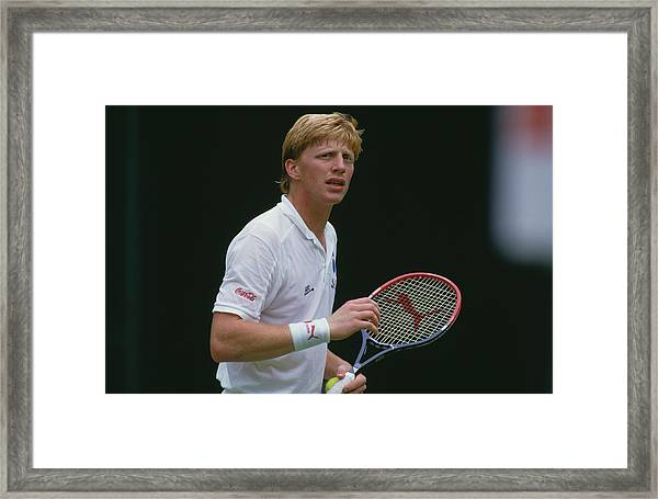 Boris Becker Framed Print