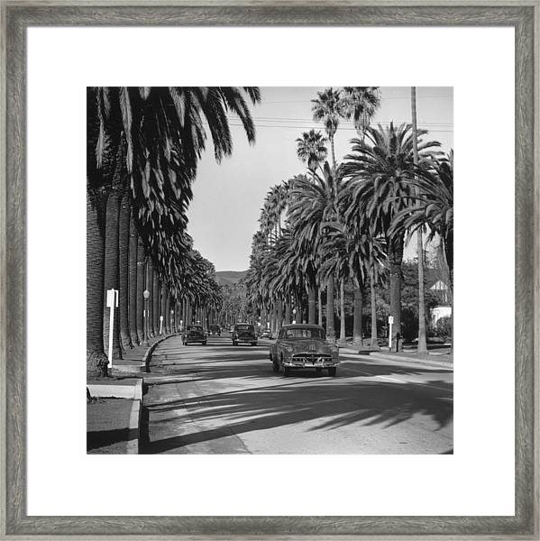 Cannon Drive Framed Print
