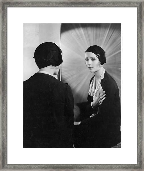 Carole Lombard Framed Print