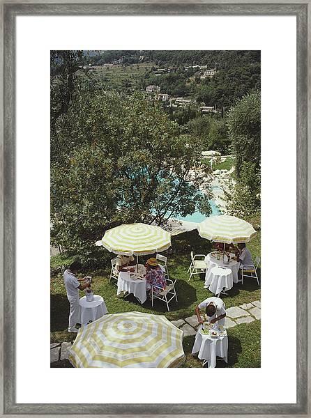 Chateau Saint-martin Framed Print
