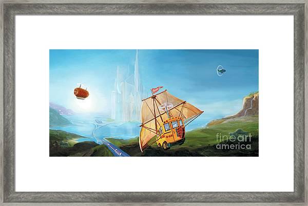 City On The Sea Framed Print