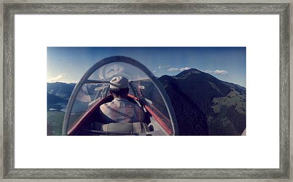 Cockpit View Framed Print