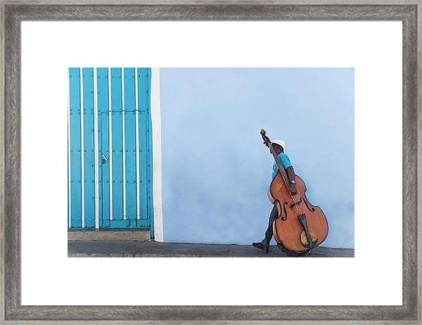 Cuba. Santiago De Cuba. Calle Heredia Framed Print by Buena Vista Images