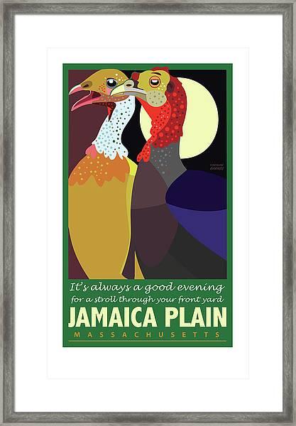 Date Night Jp Framed Print