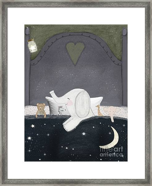 Dream Big Little One Framed Print by Bri Buckley