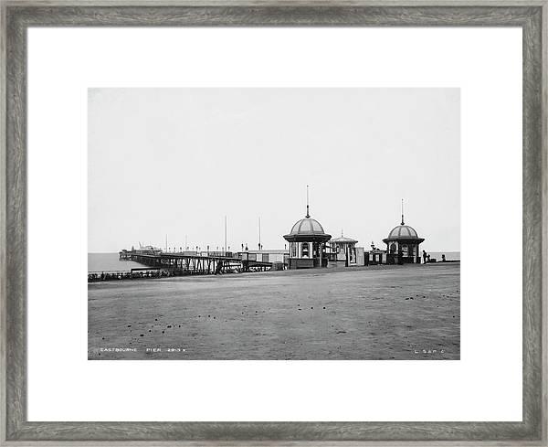 Eastbourne Pier Framed Print