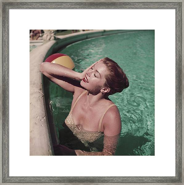 Esther Williams Framed Print