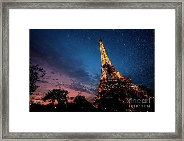 Fading Light Framed Print