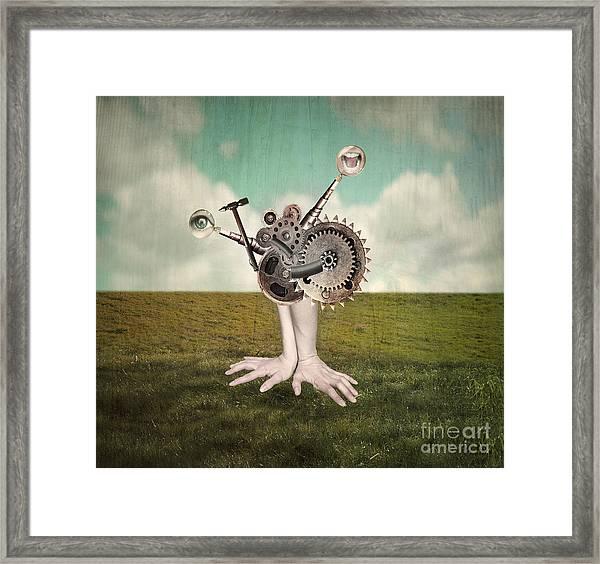 Fantasy Artistic Image That Represent Framed Print
