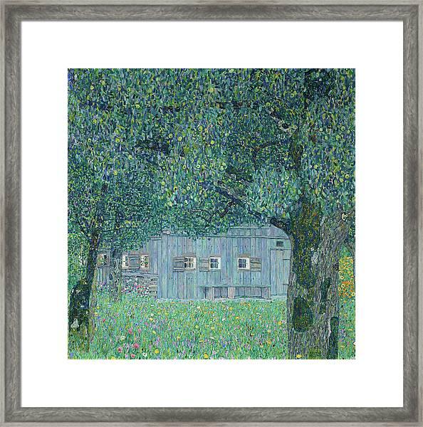 Farmhouse In Upper Austria, 1911 Framed Print