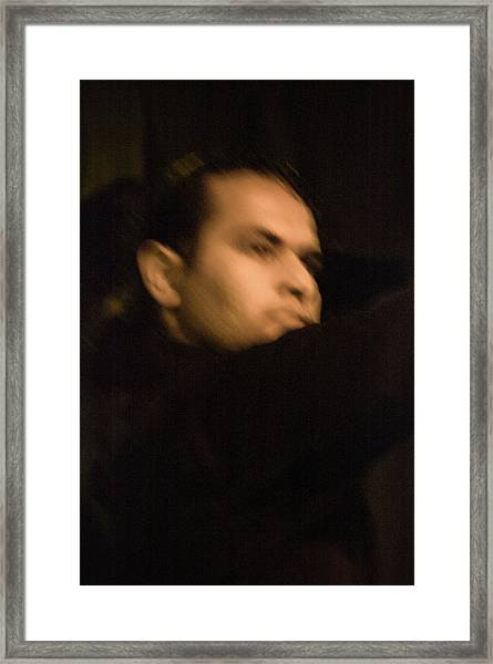 Framed Print featuring the photograph Flamenco 42 by Catherine Sobredo