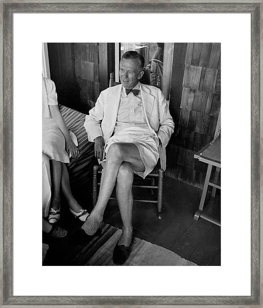 George C. Marshall Framed Print