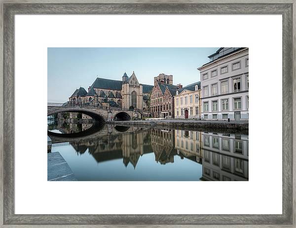 Ghent - Belgium Framed Print