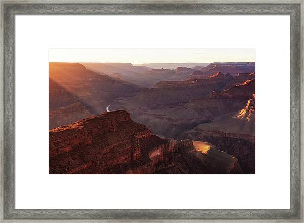 Glorious Light Framed Print
