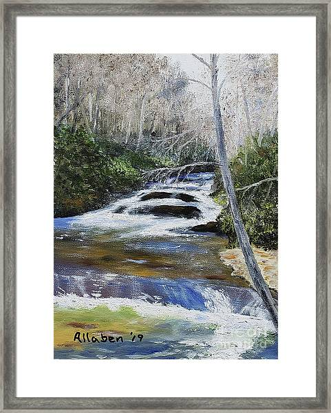 Horsepasture River Framed Print