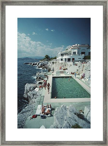 Hotel Du Cap Eden-roc Framed Print