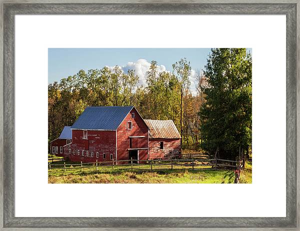 Hudson Valley Ny Countryside Framed Print