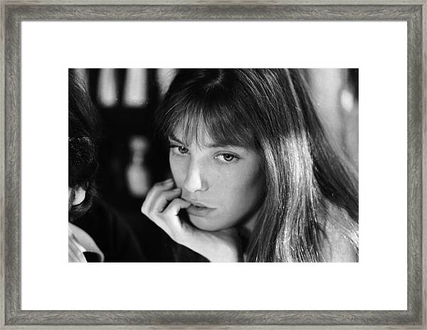 Jane Birkin Framed Print by Keystone
