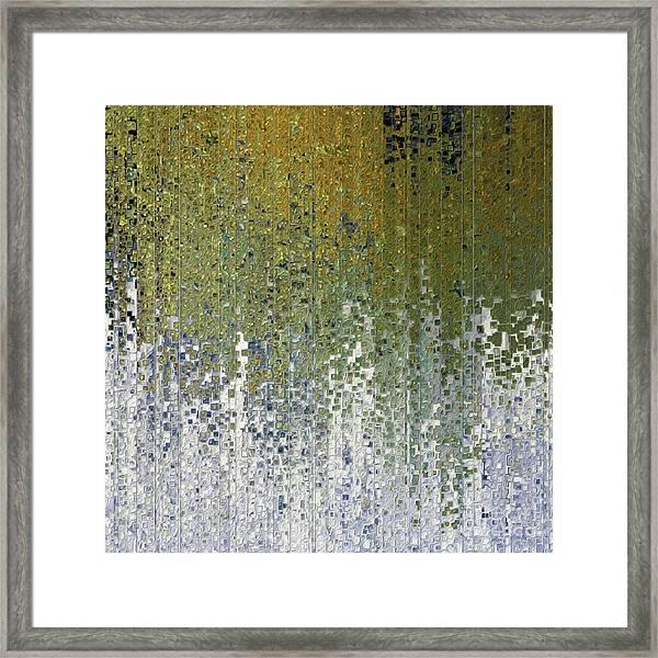 John 15 5. Abide In Me Framed Print