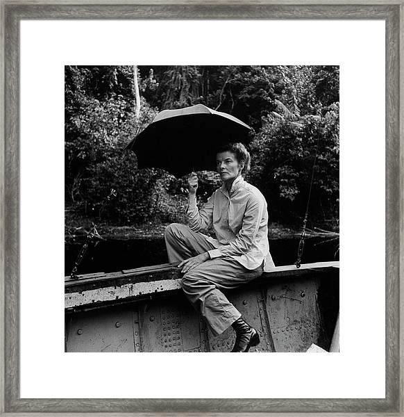 Katharine Hepburn Framed Print