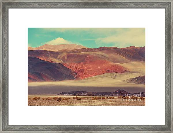 Landscapes Of Northern Argentina Framed Print