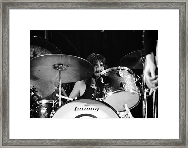 Led Zeppelin At The Forum Framed Print