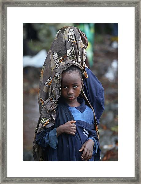 Liberia Battles Spreading Ebola Epidemic Framed Print