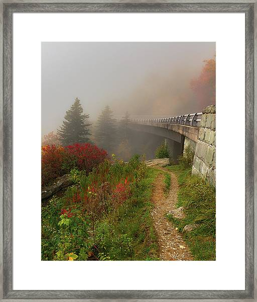 Linn Cove Viaduct - Blue Ridge Parkway Framed Print