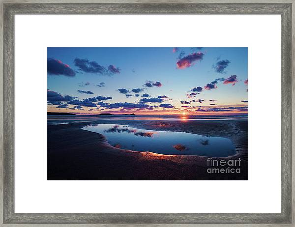 Llangennith Framed Print