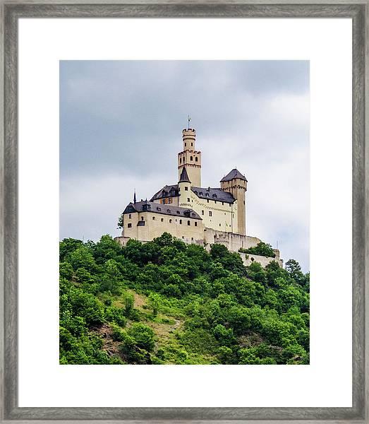 Marksburg Castle - 2 Framed Print