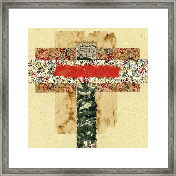 Mini Collage 575a Framed Print