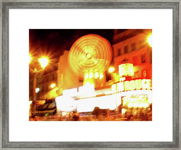 Moulin Rouge Framed Print