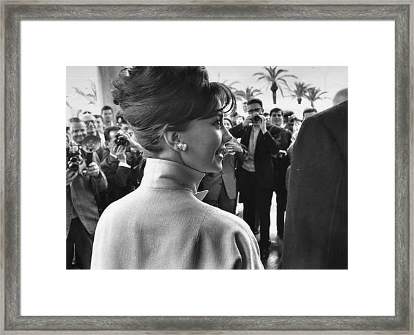 Natalie Wood Framed Print by Paul Schutzer