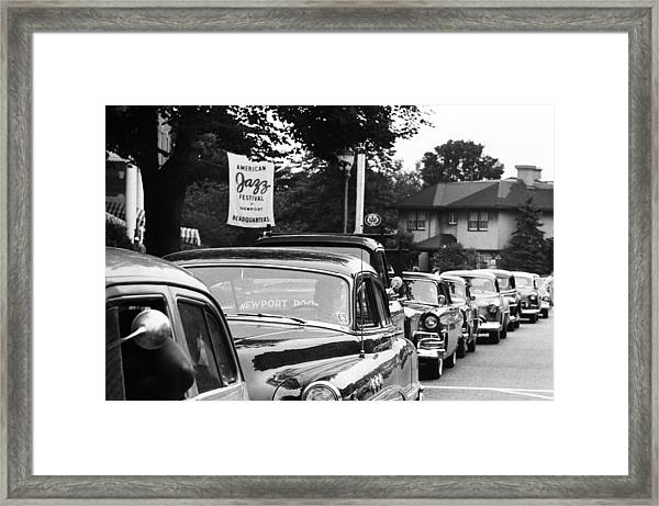Newport Jazz Festival Framed Print