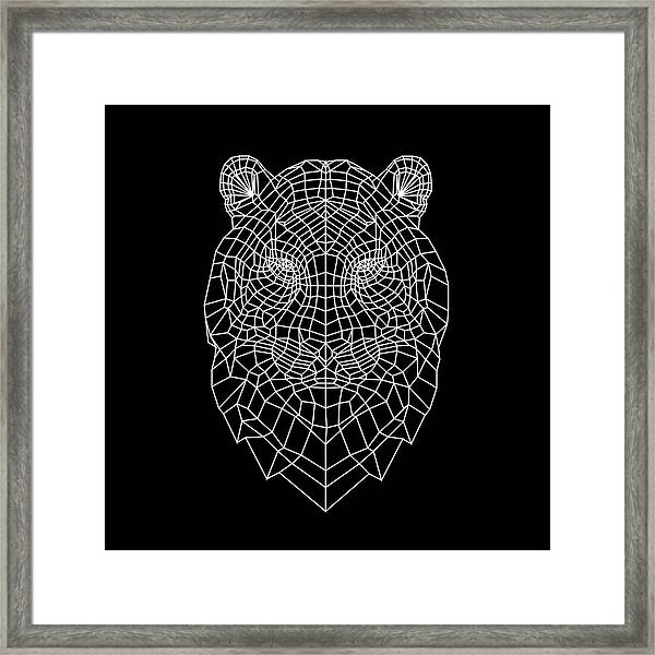 Night Tiger Framed Print