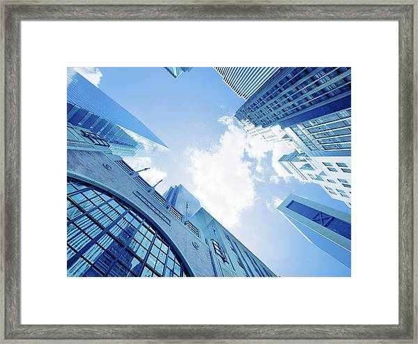 Nyc Architecture Framed Print
