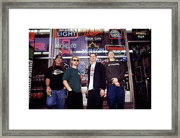 Offspring Chicago 1994 Framed Print by Martyn Goodacre