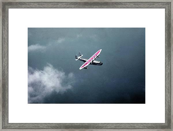 Pan Am Bermuda Clipper Framed Print